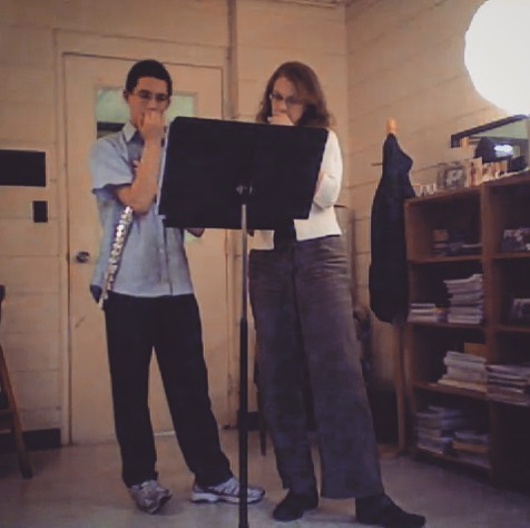 When you and your teacher have the same mannerisms... 😂 😂 #tbt to my time studying with Nancy Stagnitta ❤️#interlochenartsacademy
