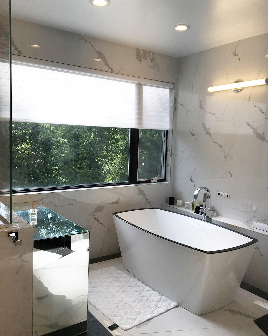 Glamourous Master Bath