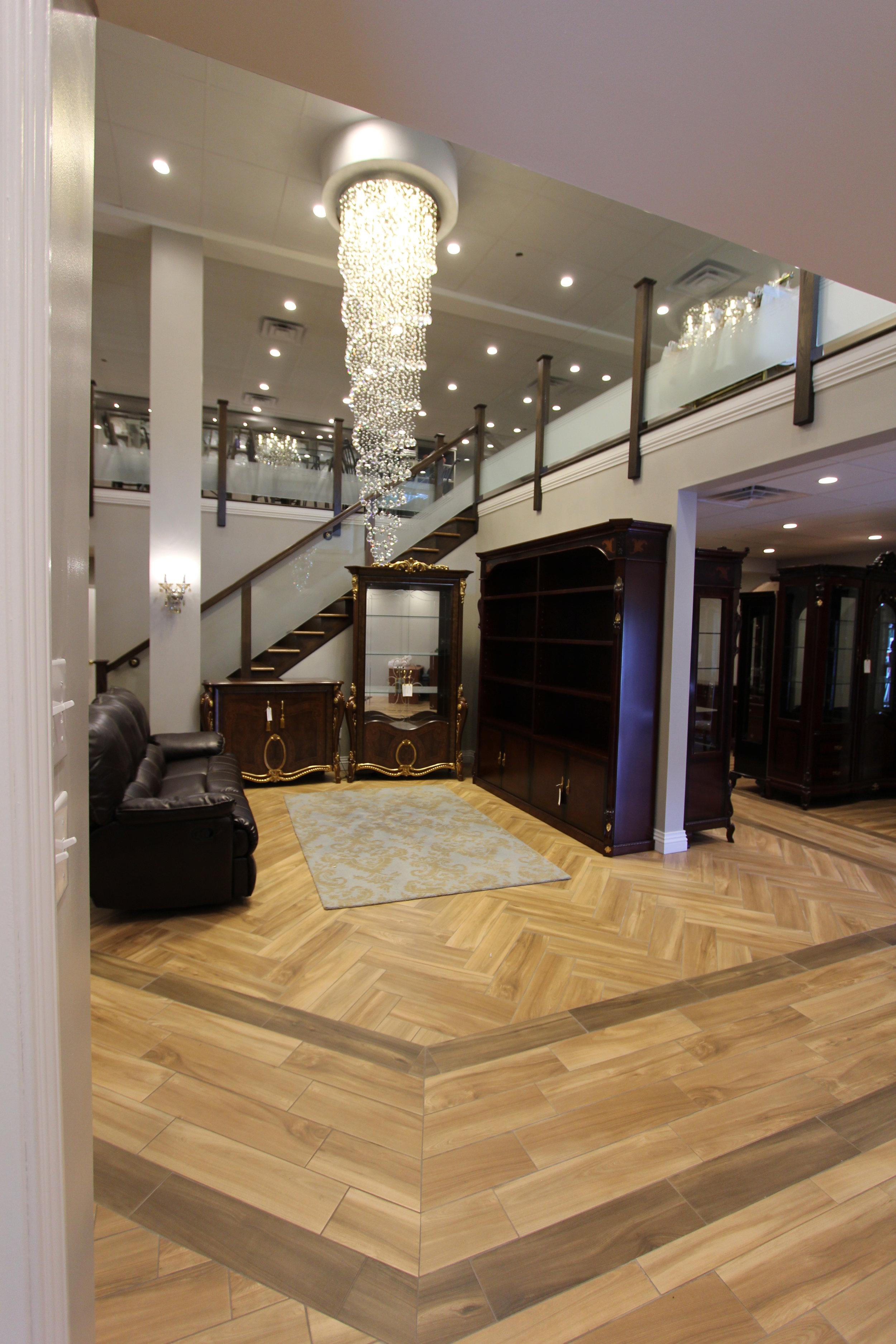 Retail Furniture Showroom Floor
