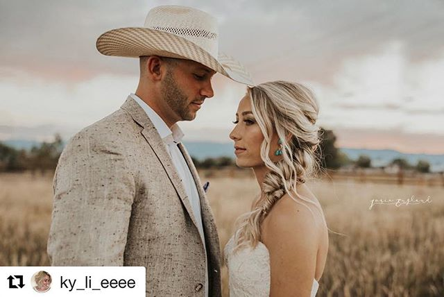 Stunning hair and makeup for this bride by @ky_li_eeee 💕  #Repost @ky_li_eeee with @get_repost ・・・ Boho braids and turquoise ✨