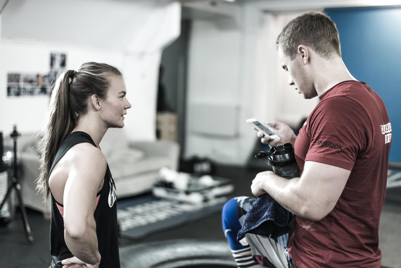 CrossFit meets CrossFitter