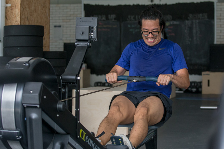 One of the best endurance exercises: rowing