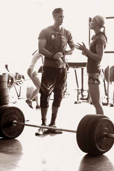 Stregth training is the fundament of CrossFit