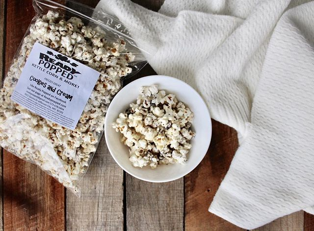 Blanket: ✔️ Netflix: ✔️ Popcorn: Stop by MOSwag and pick up this classic snack with a twist. Start your weekend off right.