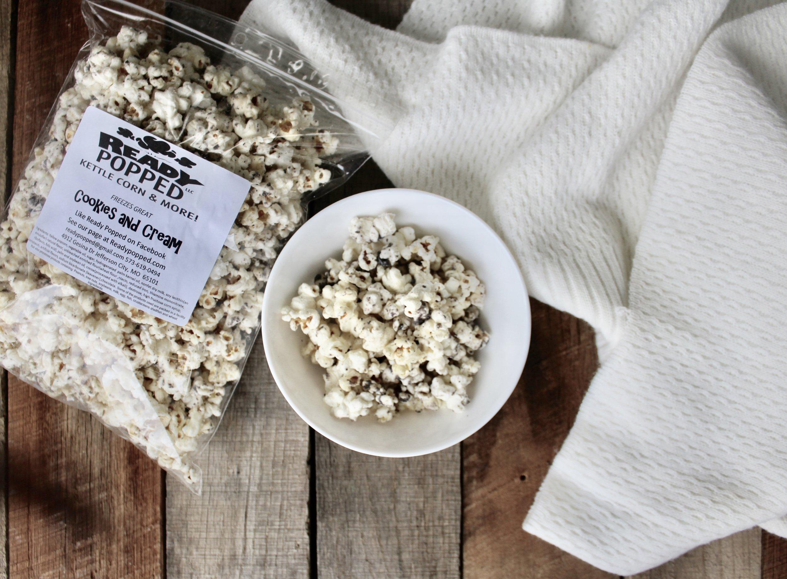 Ready Popped Gourmet Popcorn