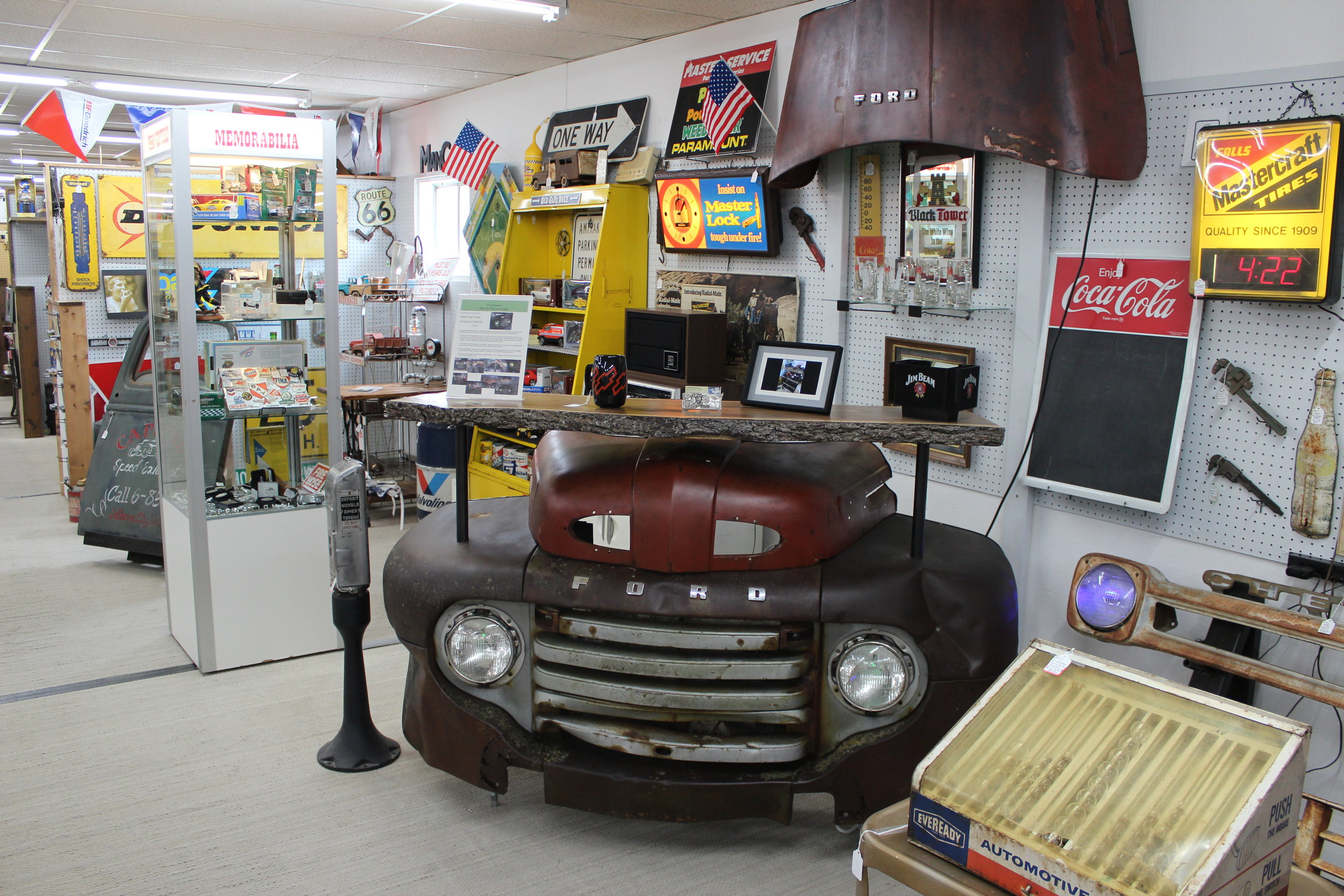 P and G Ventures  (The ManCave Booth #93) is operated by Jim Jones and son's Kuper, Landon and Brandon. They search for unique antiques, automotive, toys, collectibles and oddities.