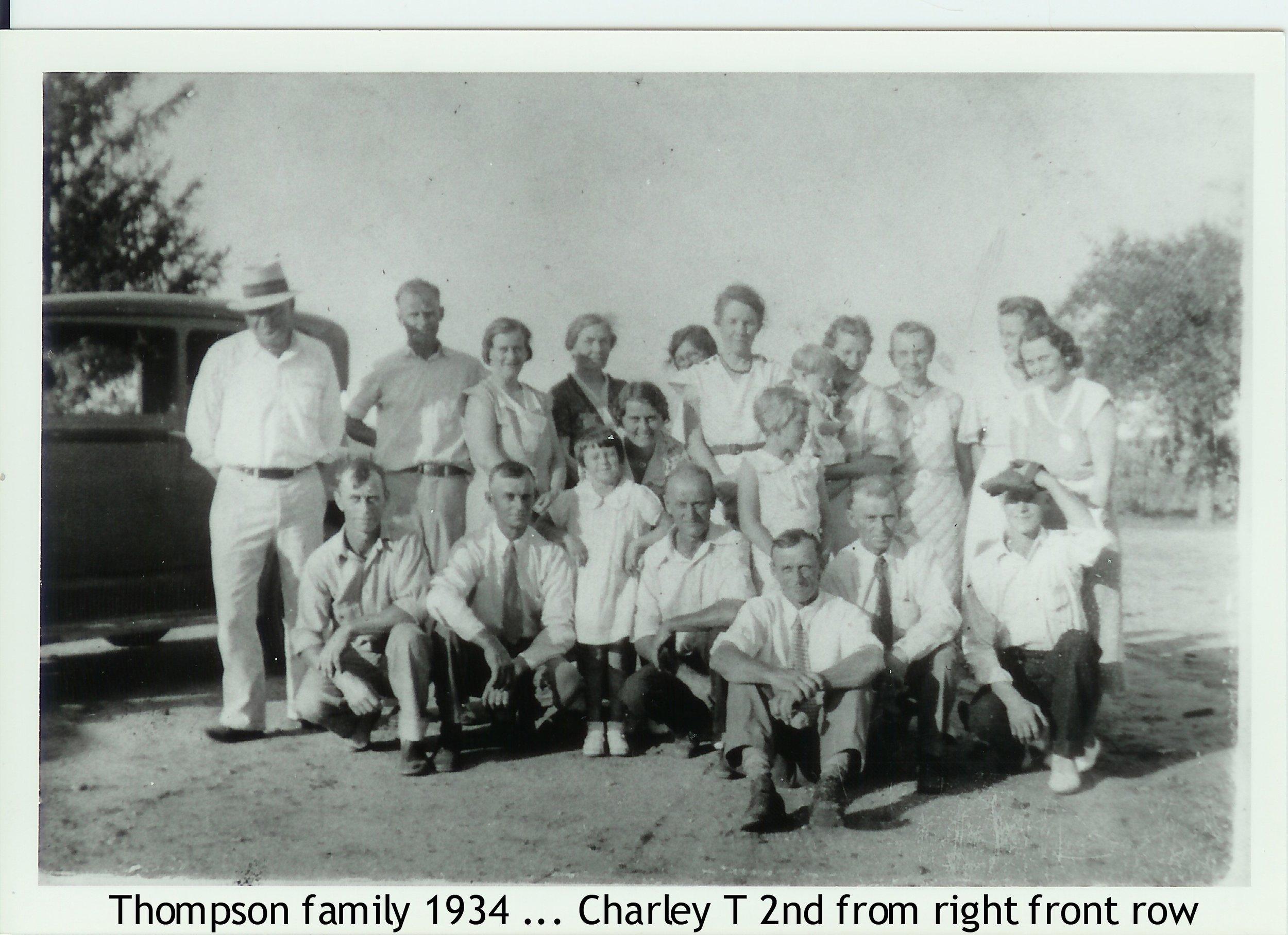 Anna Thompson's family -