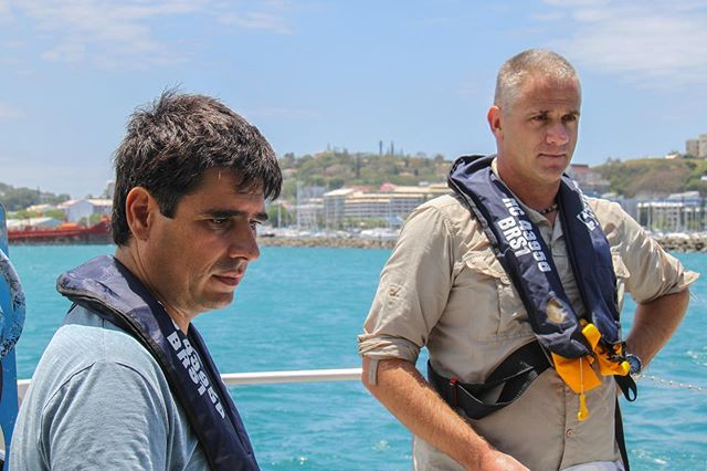 And the countdown is on! T-minus 2 hours until 'Shark Movers: Deadly Cargo' premieres on US screens for SharkFest (that's 10pm EST)! We can't wait for you all to see what we've been working on 🦈🦈