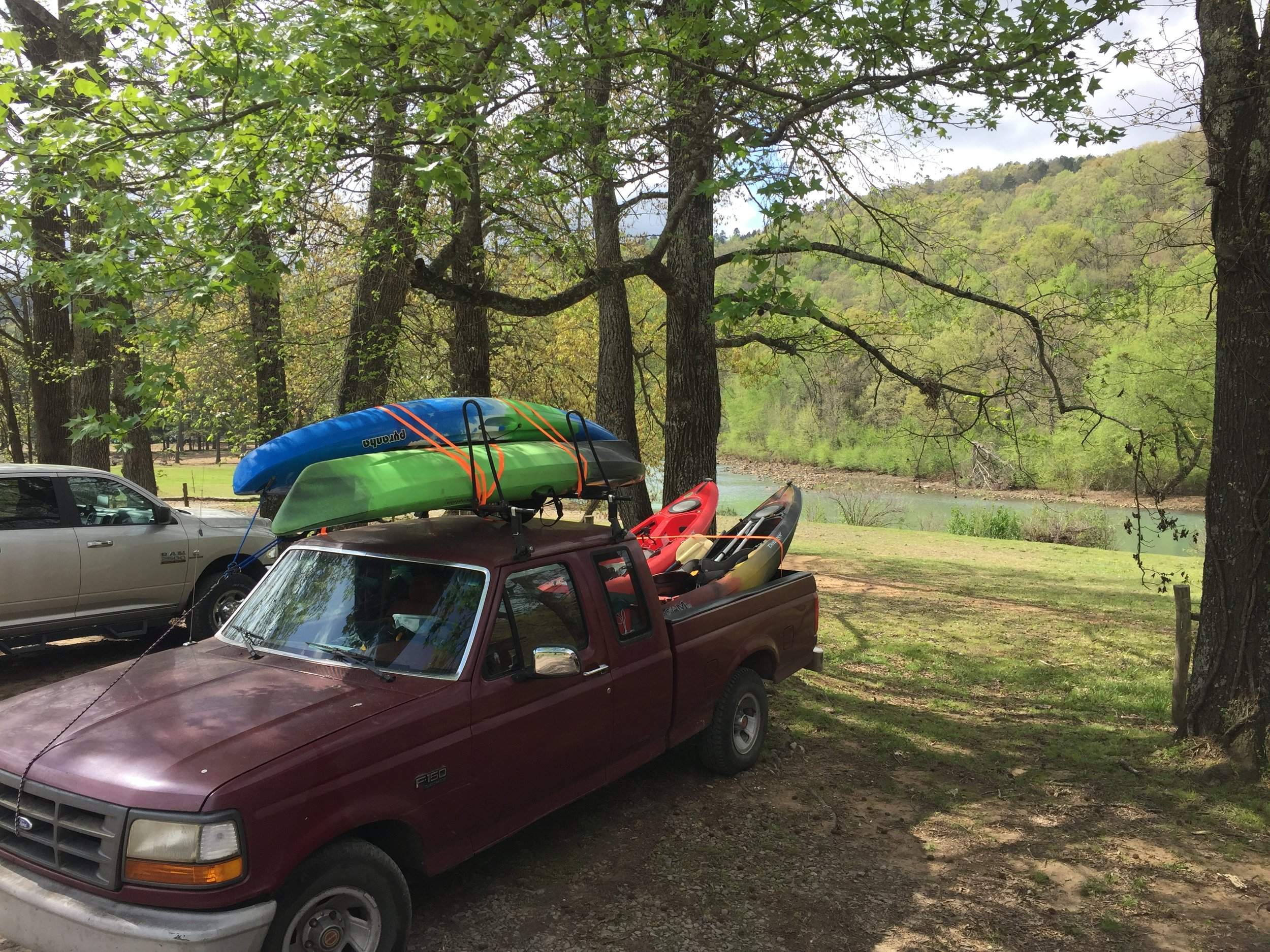 Grab bag - Whatever we've got left in the boat barn!  This category may include smaller kayaks that are great for kids, a sit-on-top fishing kayak with rod holders, and lighter, easier-to-carry sit-inside kayaks.