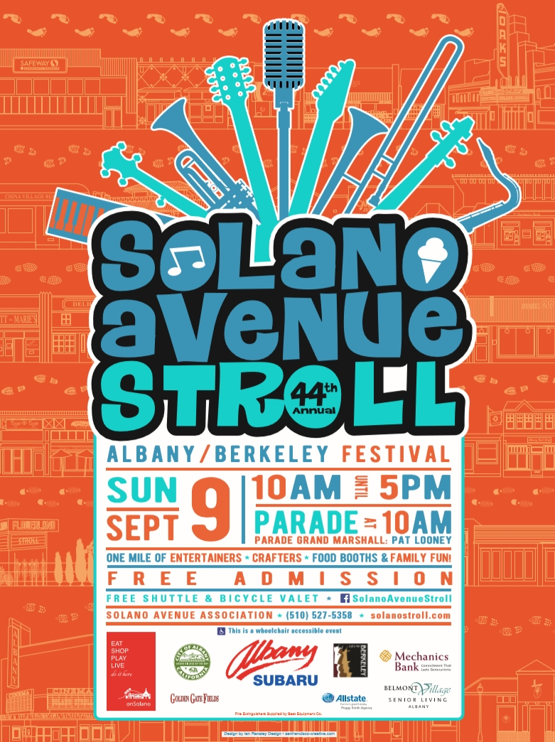 We had such a great time meeting the community at the Solano Stroll on Sunday, Sept 9th, 2018. Thank you to everyone who stopped by our booth. We'll see you again next year! -