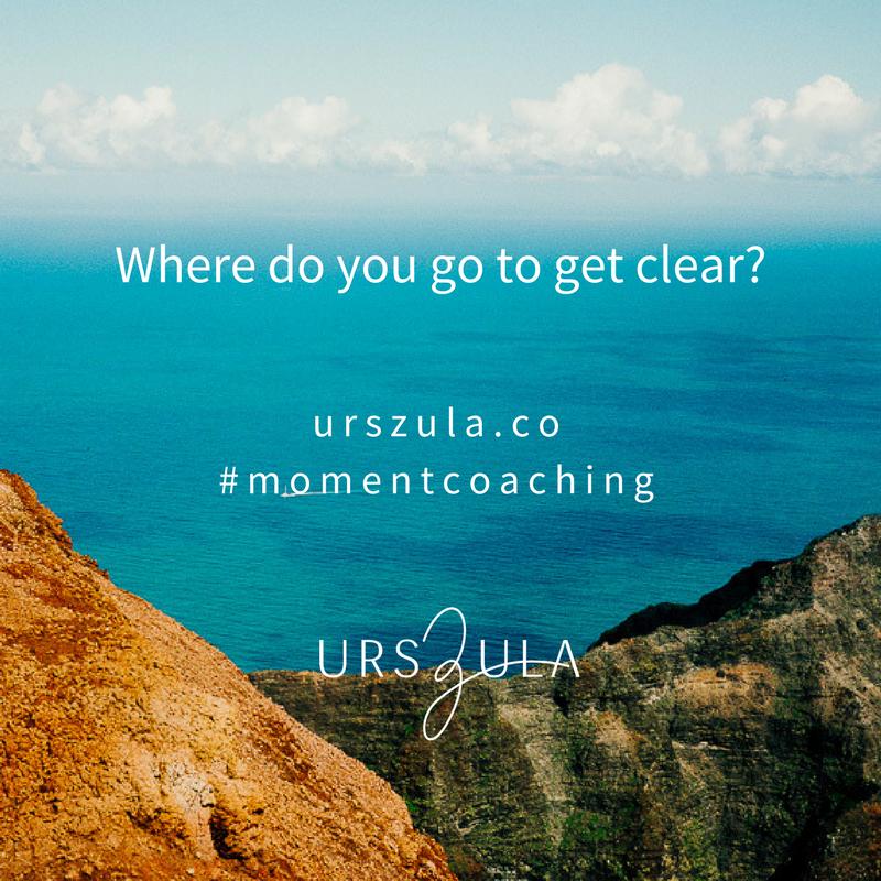 Clarity | Life coaching quote Urszula Lipsztajn