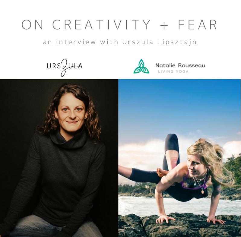 Urszula Lipsztajn - on creativity and fear