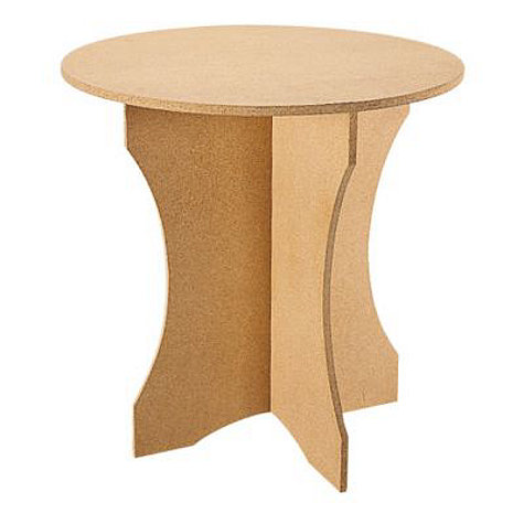 """{A """"terrific table"""" for under any skirt. From  Ballard Designs .}"""
