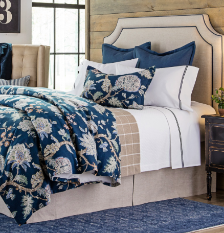 {Dalton Indigo collection by  Legacy Home .}