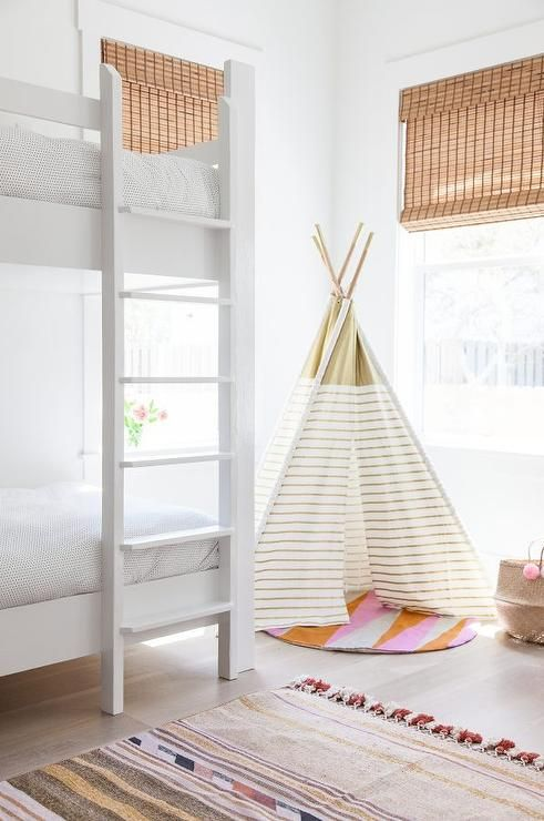 {Your young guest may never want to leave a haven as stylish and cozy as this. From:  Decor Pad .}