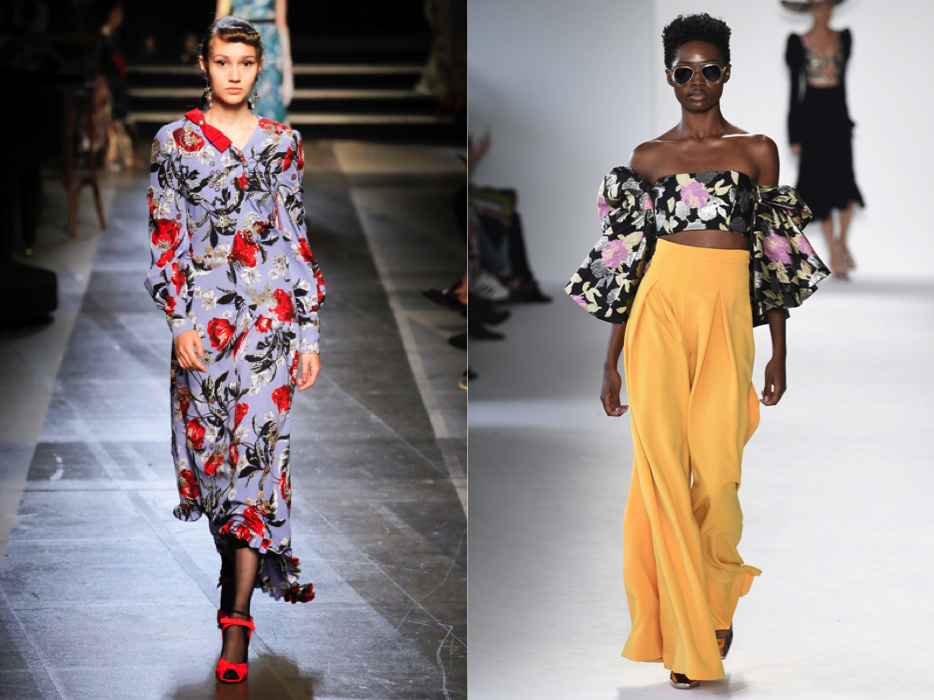 {Left,  Erdem . Right,  Christian Siriano .}