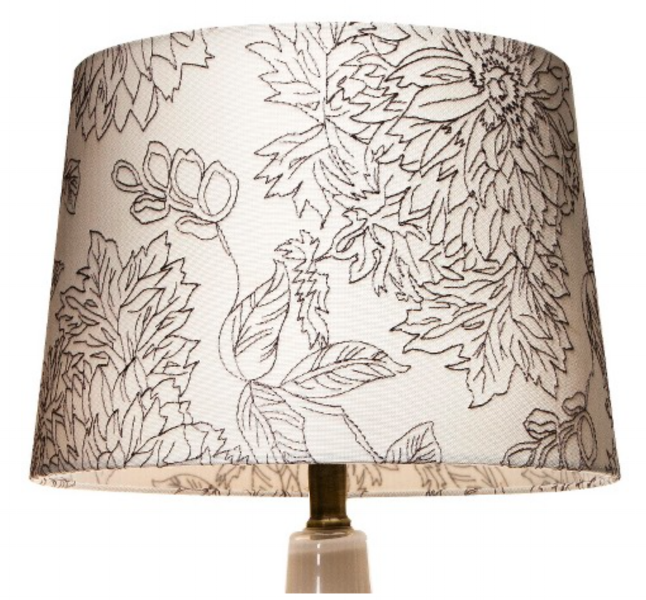{This modern take on toile is striking. From  Target .}