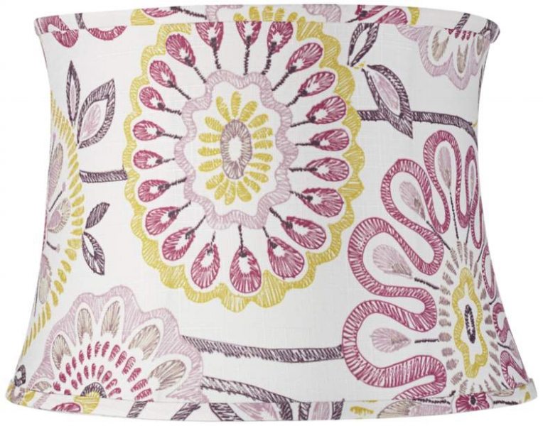 {This watercolor-like shade makes me think of Spring! From  Eurostyle Lighting .}