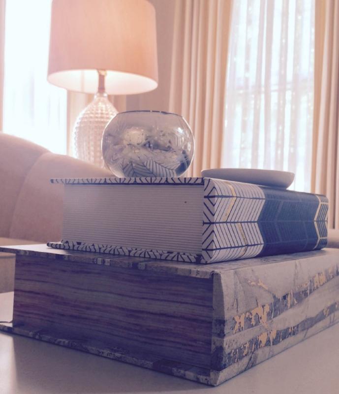{Living room design by  April Force Pardoe Interiors .}
