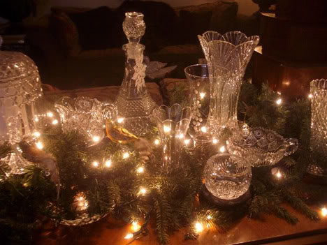 Glass Vase Containers Lights Holiday Christmas Decor Decoration Inspiration Favorite Interior Design