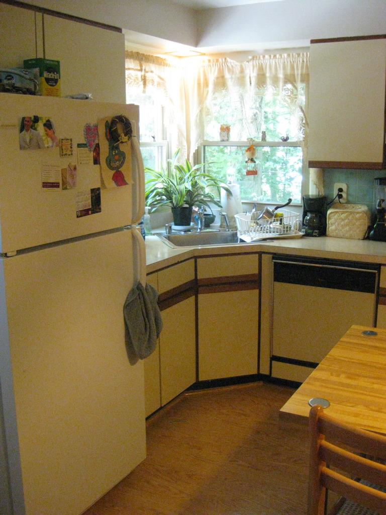 {Kitchen before.}