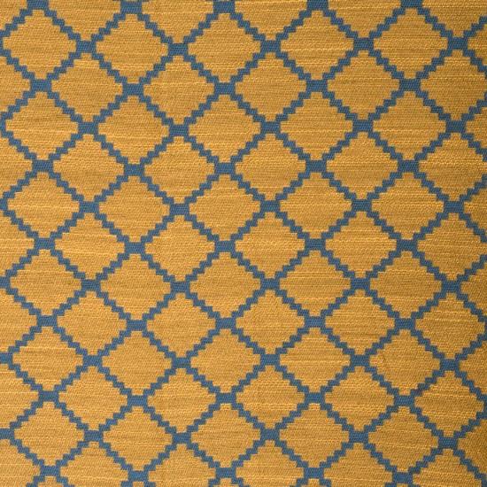 {Basalt Bluegold. From: Fabricut.}
