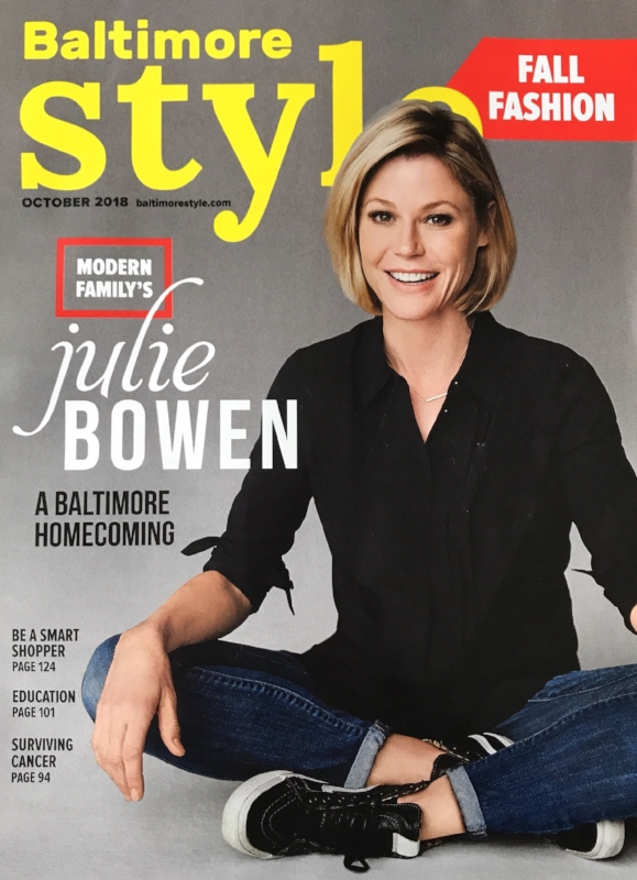 Baltimore Style Magazine October 2018 Issue Eating Well Dining Room Makeover April Force Pardoe Interiors