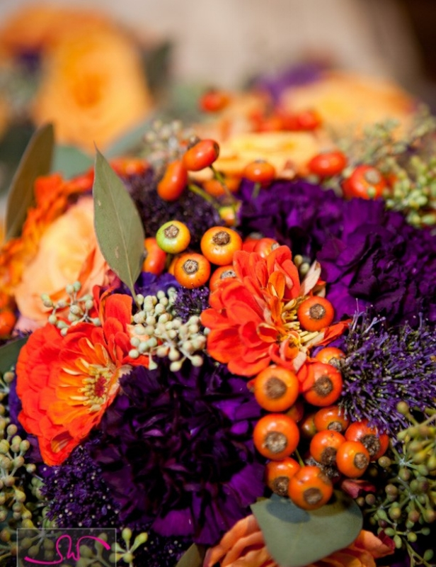 {Let nature be your color inspiration. From:  The French Bouquet. }