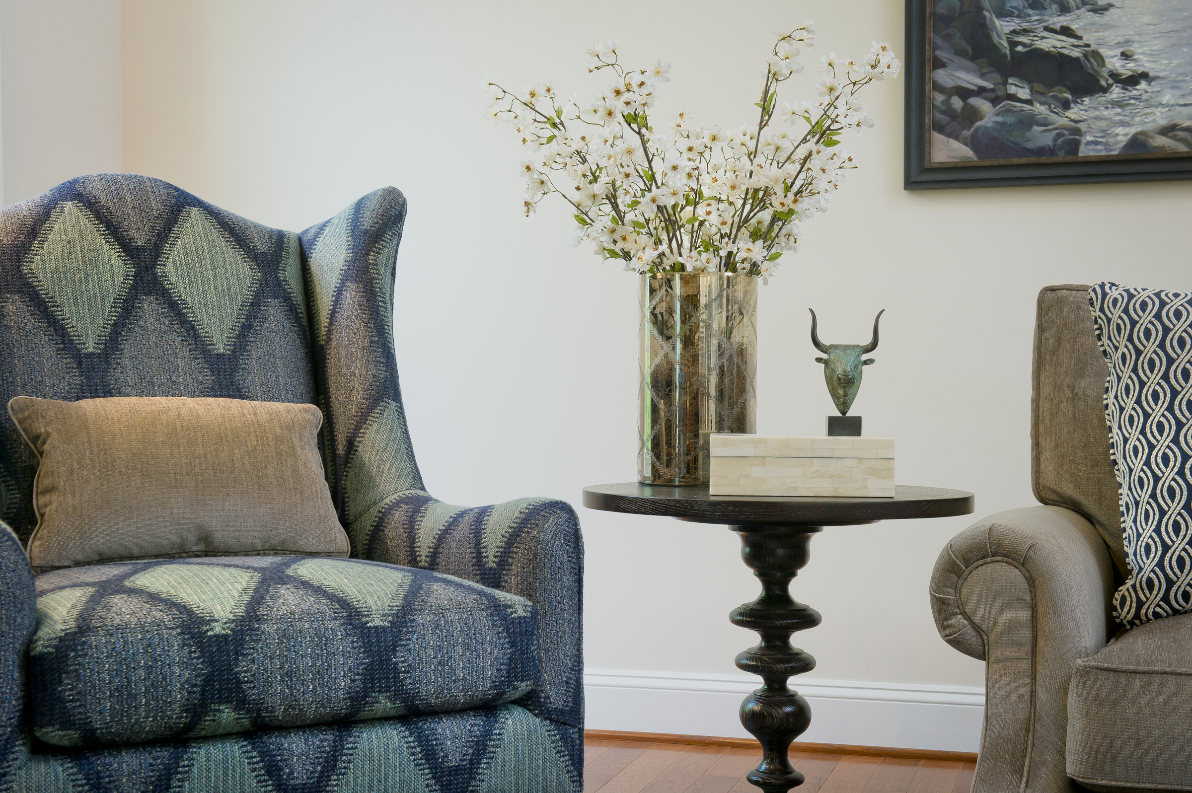 { Bluebell Way  design by April Force Pardoe Interiors.}