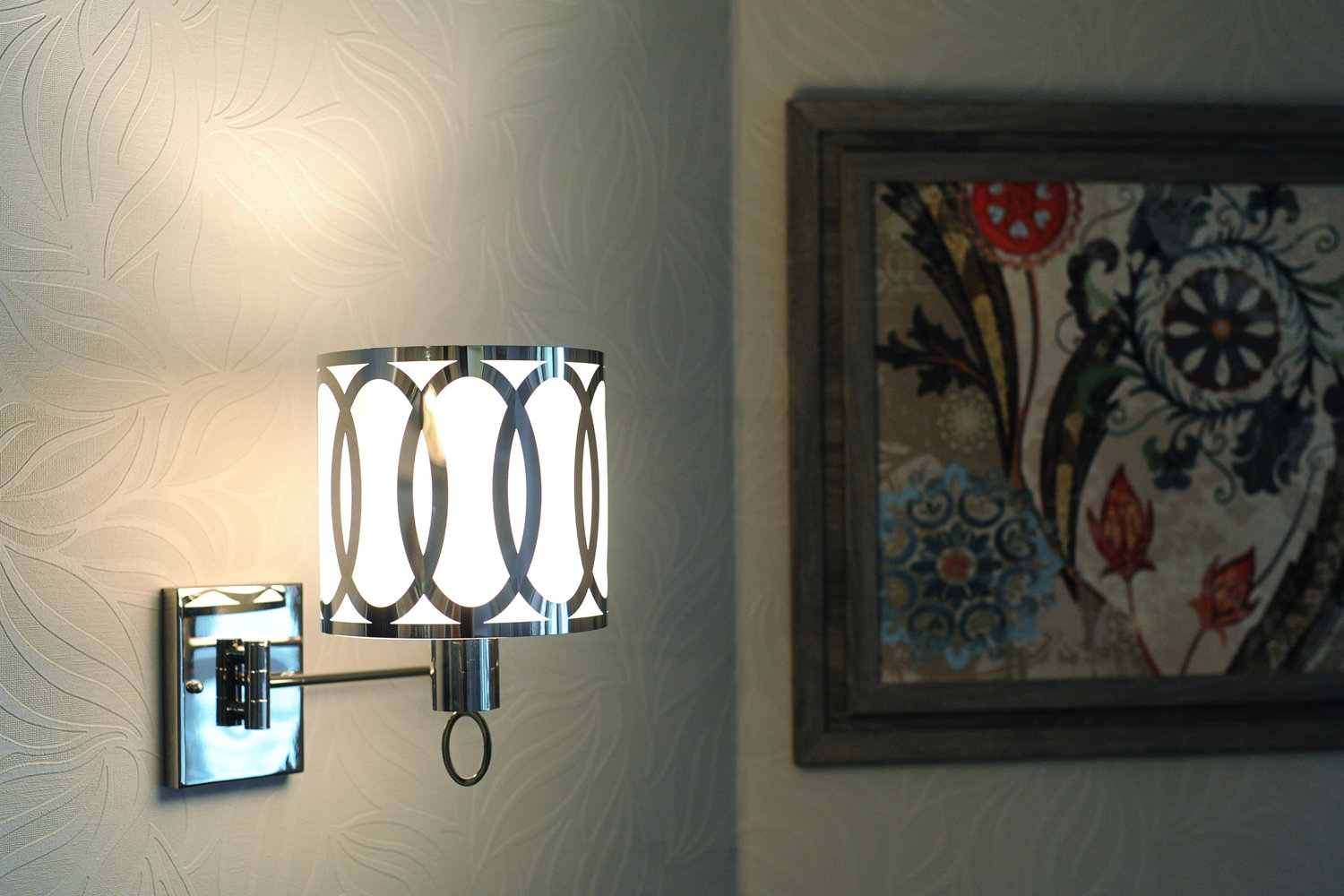 Master Bedroom Design Inspiration Wall Swing Arm Sconce Light Fixture Baltimore Columbia Howard County Maryland April Force Pardoe Interiors Interior Design Ideas