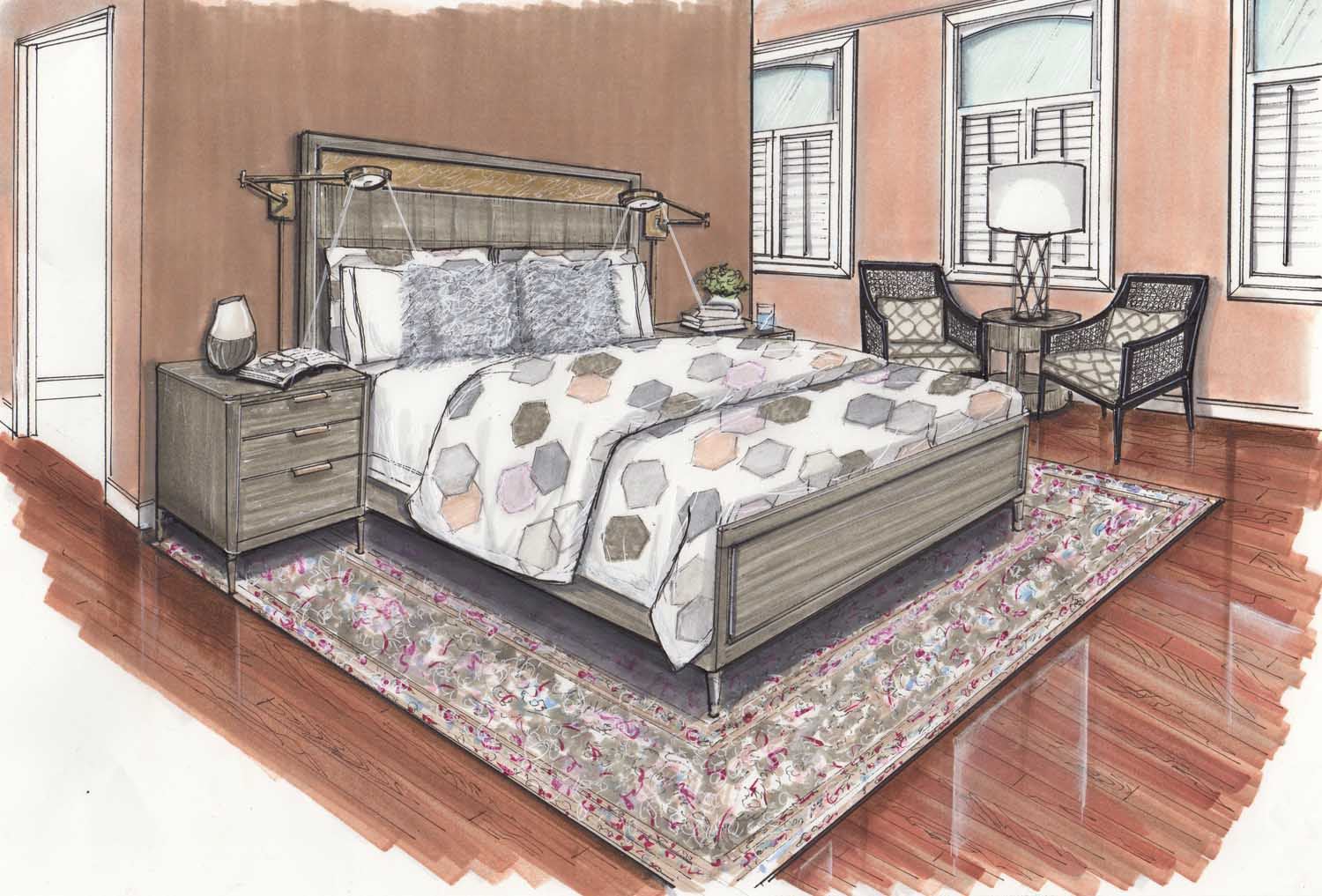 Baltimore Maryland Butchers Hill Master Bedroom Update Design Details Rendering – Designer Bestie April Force Pardoe Interiors.jpg