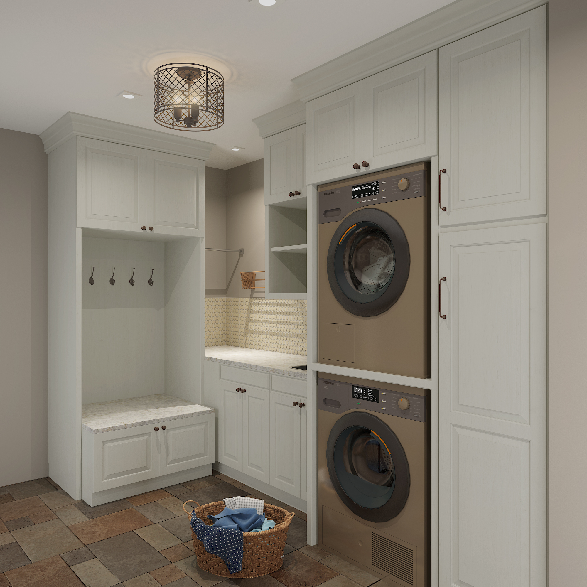 { Ash Grove Court  laundry room remodel design by April Force Pardoe Interiors.}