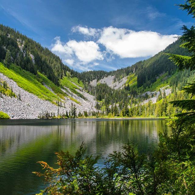 Hiked the Talapus Lake Trail, visiting both Talapus and Olallie Lakes
