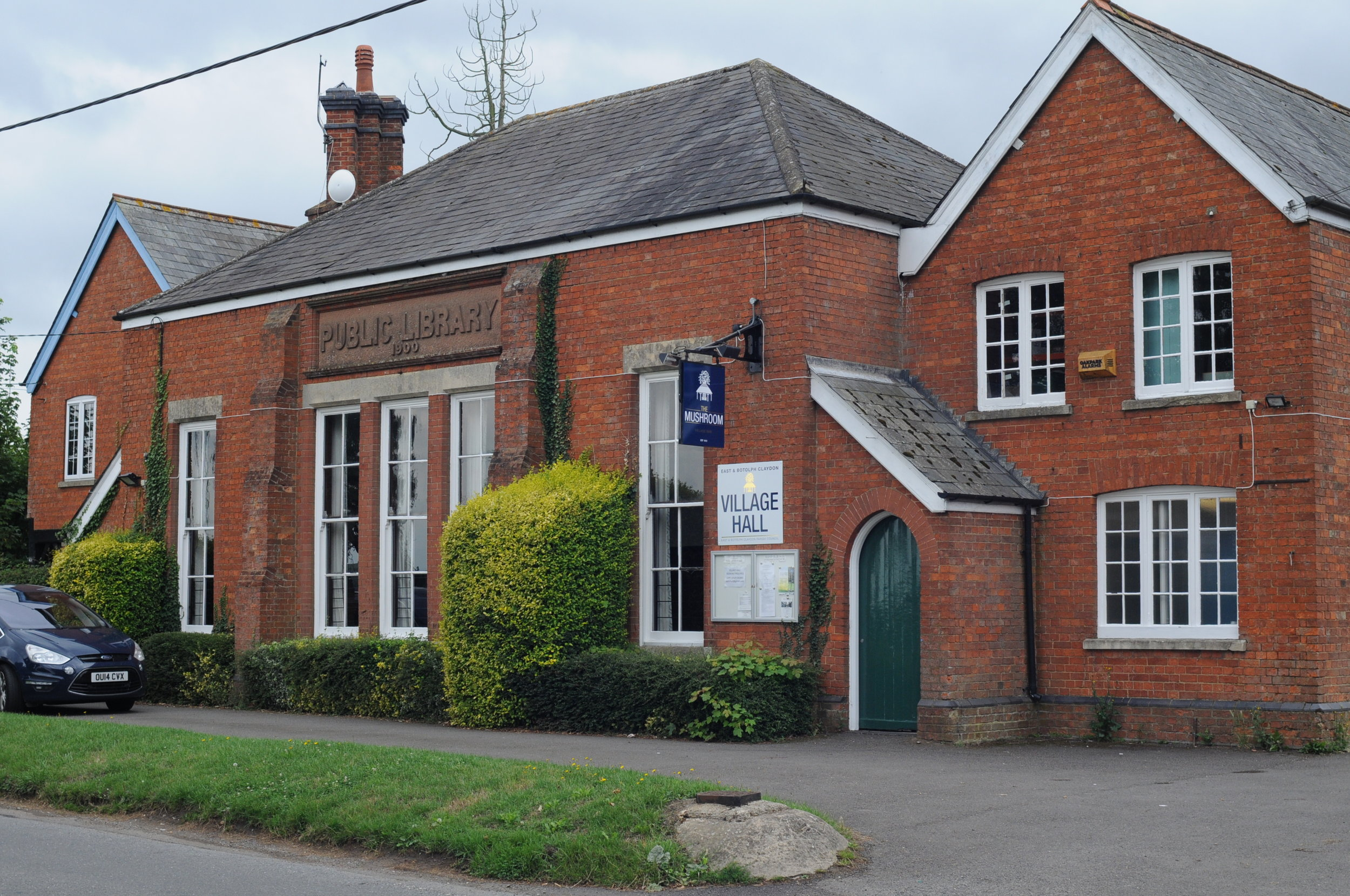 East and Botolph Claydon Village Hall