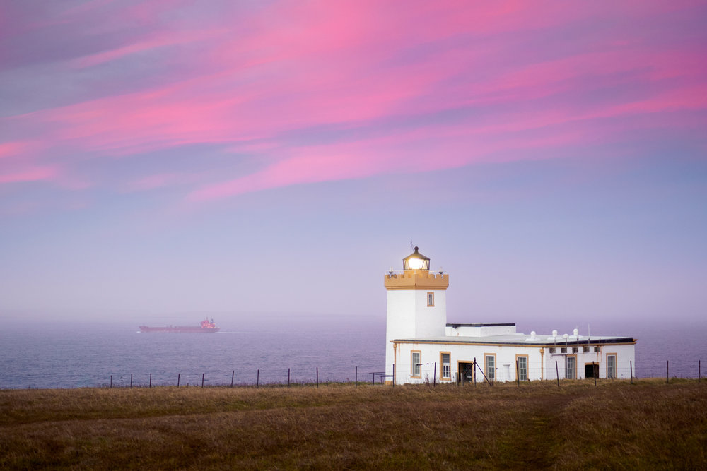 Duncansby Head Lighthouse, Scotland, 1/13 f53.5, Olympus OMD EM-5 MKII, M.Zuiko 30mm f3.5