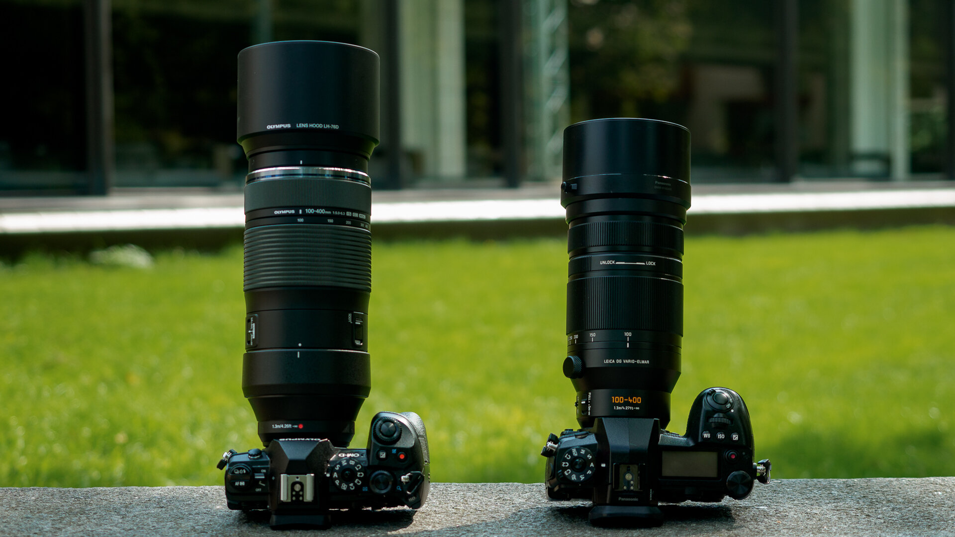 Olympus 100-400mm vs. Panasonic 100-400mm - [WHICH one to get?]