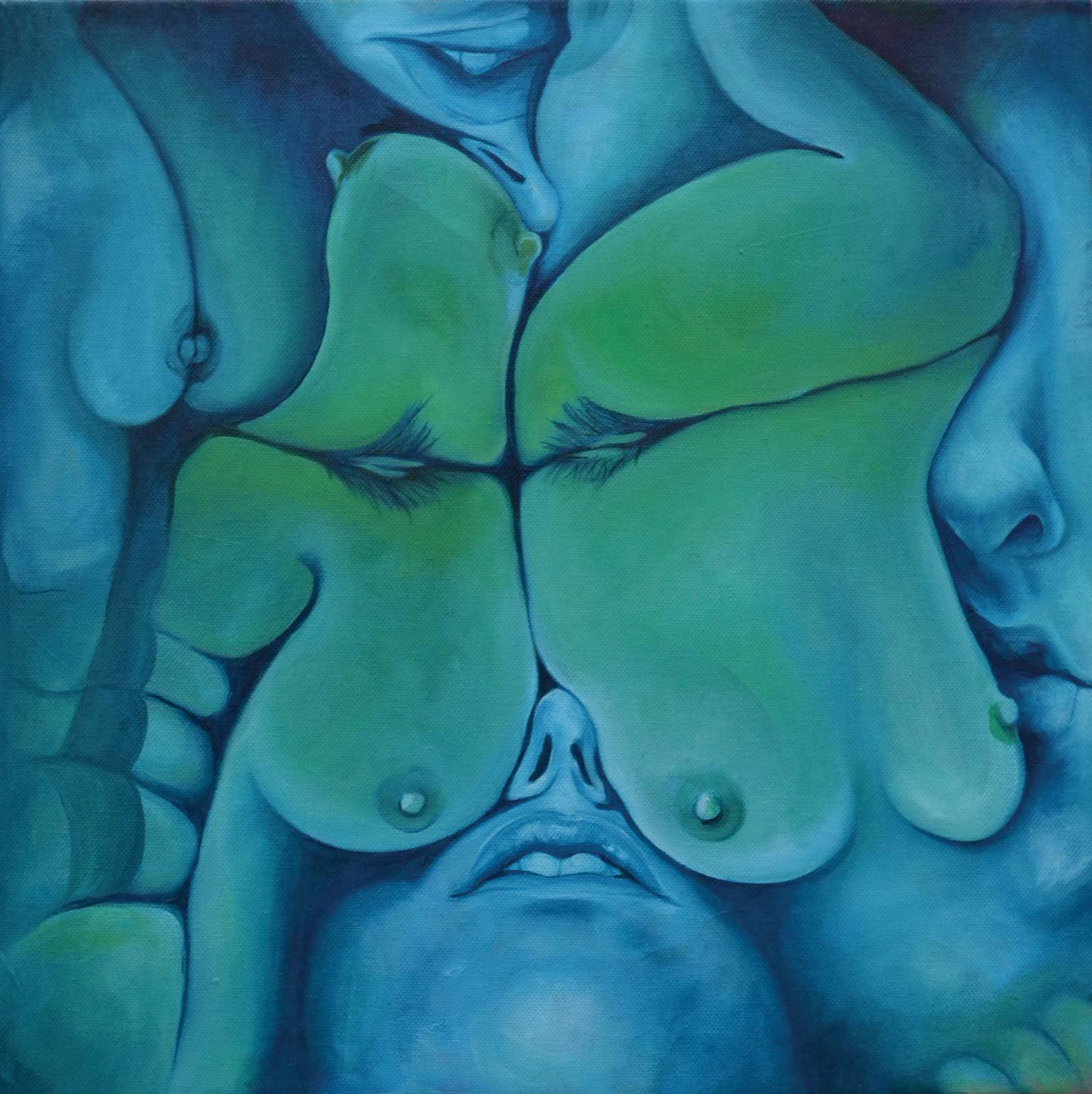 Squished (bluish)