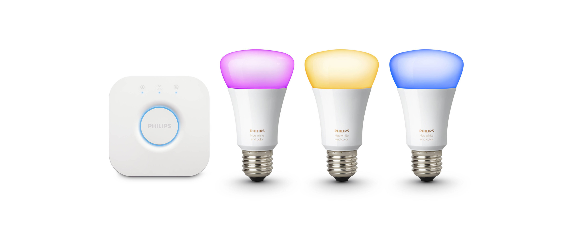 Philips Hue lighting - Add a little ambiance to your home, by controlling Philips Hue lighting with Toon. Lights on. Let's get creative.