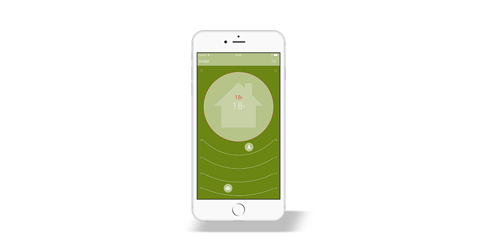 Drebbl app - Why heat your house when nobody's home? The Drebbl thermopilot learns how you move about and uses algorithms that go beyond simple geo-fencing. This way, it can turn down the heating as soon as the last person heads out, and turn it back up just in time to give the first person to arrive a warm welcome.