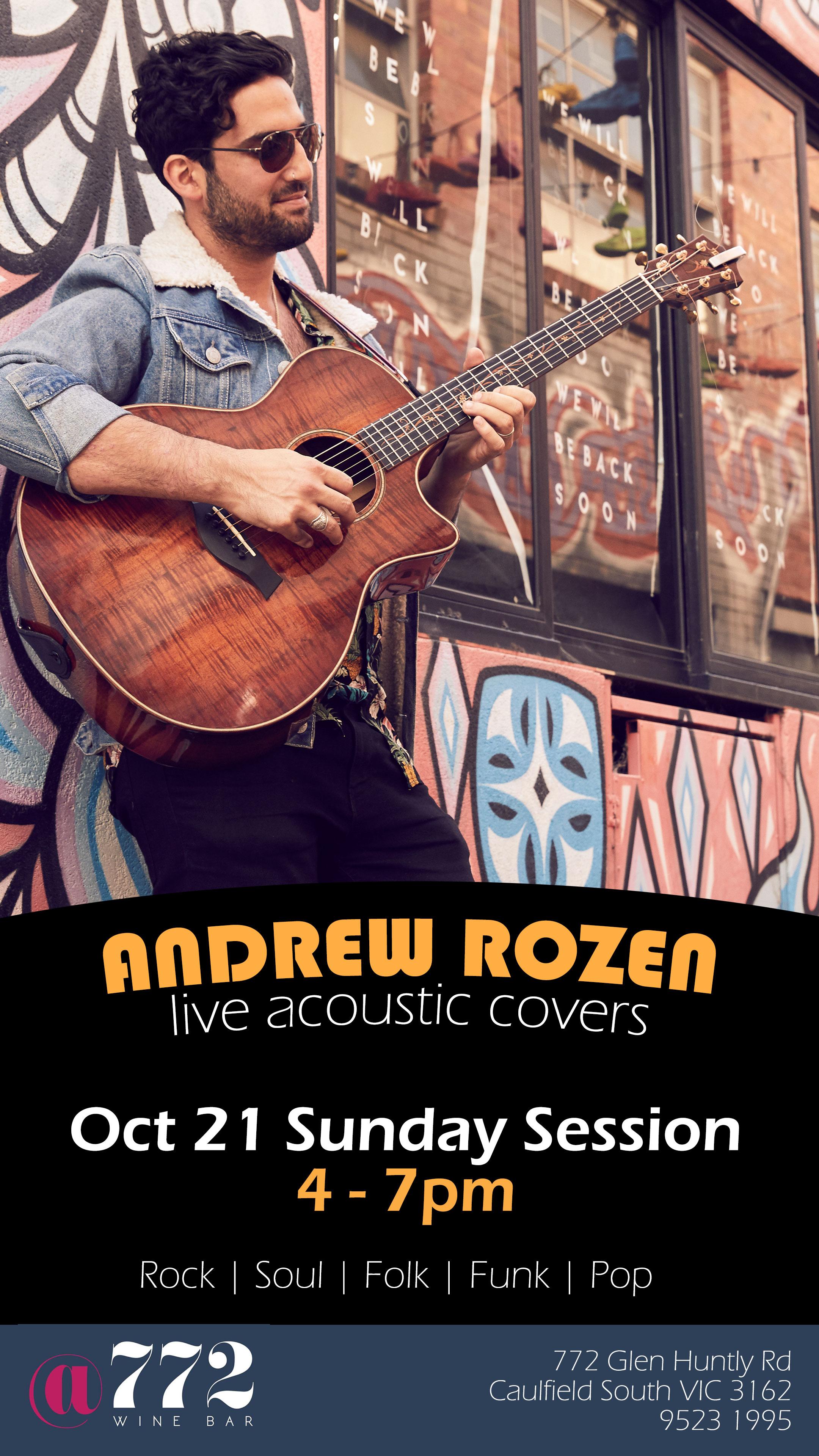 Andrew Rosen - 4pm - 7pm