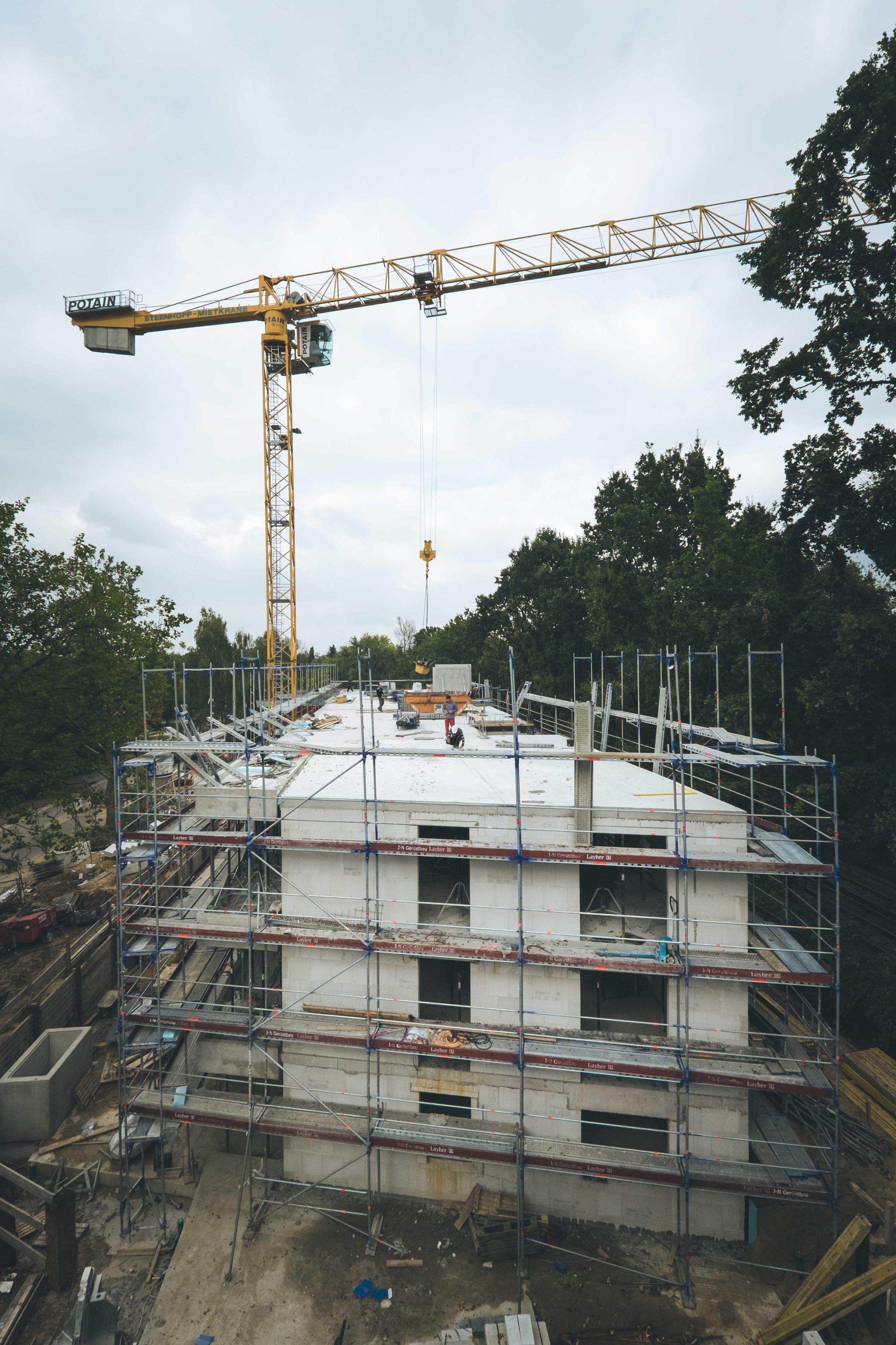 DMW2-Baustelle