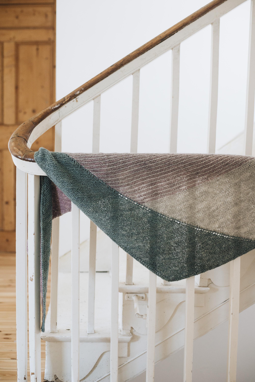Pattern: Stay Soft Shawl  Designer: Veera Valimaki  Yarn: BFL/ Gotland 4ply