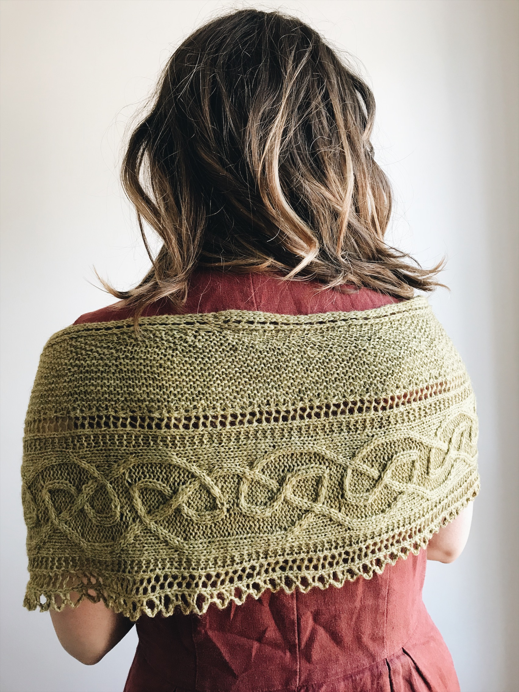 Pattern: Dunedin Shawl  Designer: Lucy Hague  Yarn: BFL/ Masham 4ply