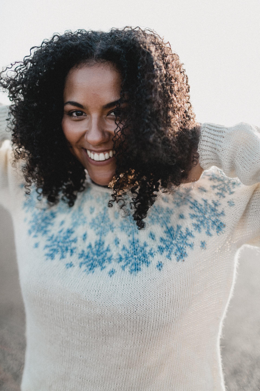 Pattern: When Snow Falls  Designer: Verena Cohrs  Yarn: Wensleydale DK (designed in this yarn)