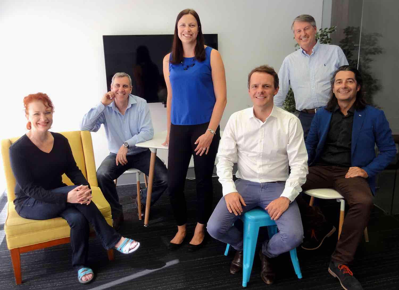 AgriStart Mentors Ally Bishop, Peter Rossdeutscher, Dr Natasha Ayers, Grant Sanderson, Greg Riebe, Stuart Kidd