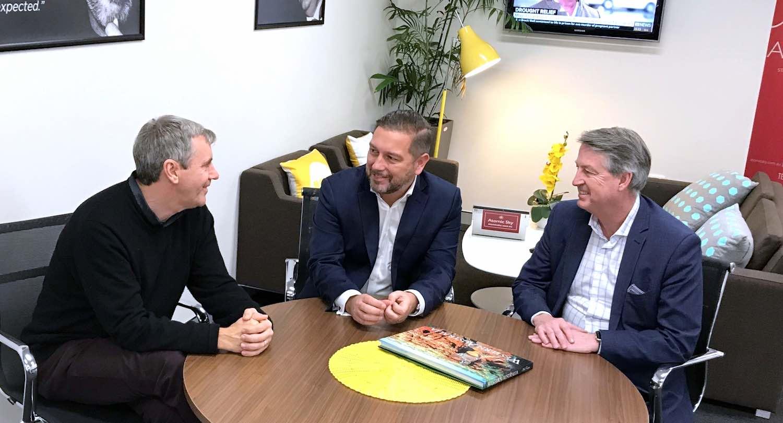 Peter Rossdeutscher + Jamie Vine + Greg Riebe