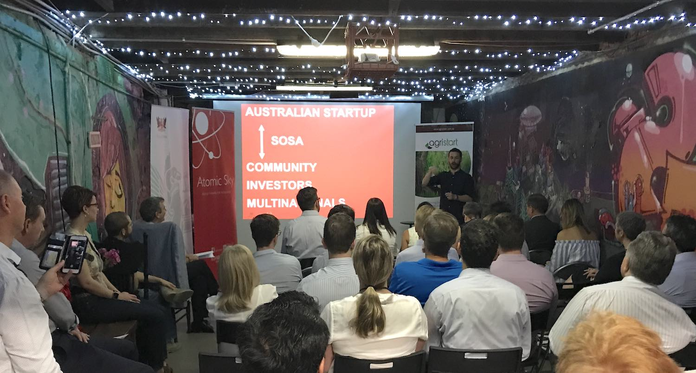 Israel, Innovation & Australia Event in the Studio Startup Basement