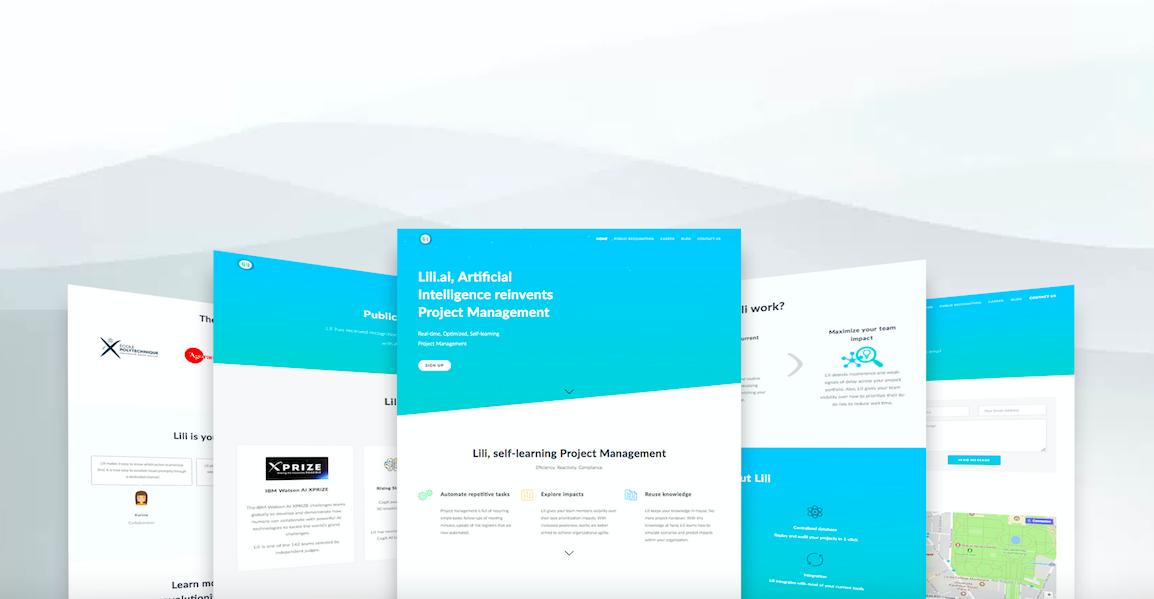 lili.ai website desktop