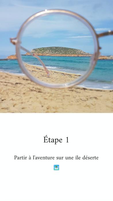 IG Atelier des lunettes story
