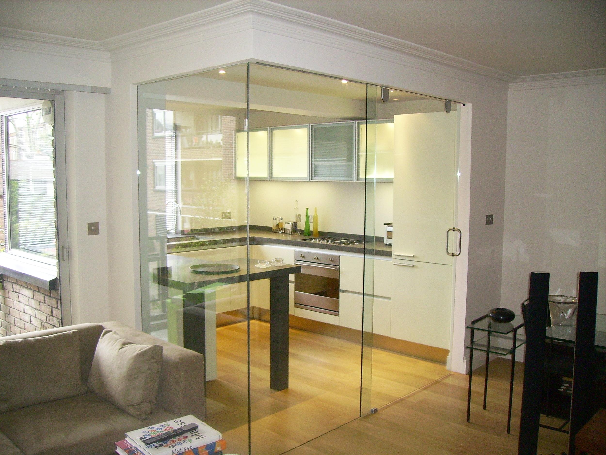 Glass Door - SW5 - London - Brompton Glass 1.JPG